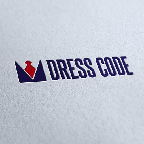 Dress Code Clothing Logo Template
