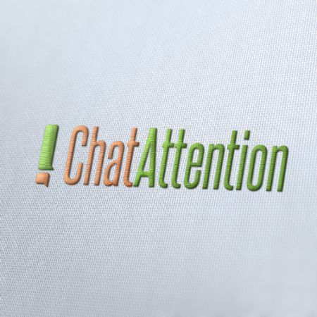 Chat Attention Logo Template
