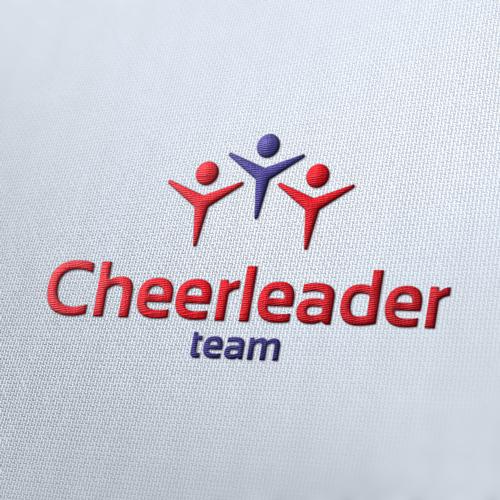 Cheerleader Sport Logo Template