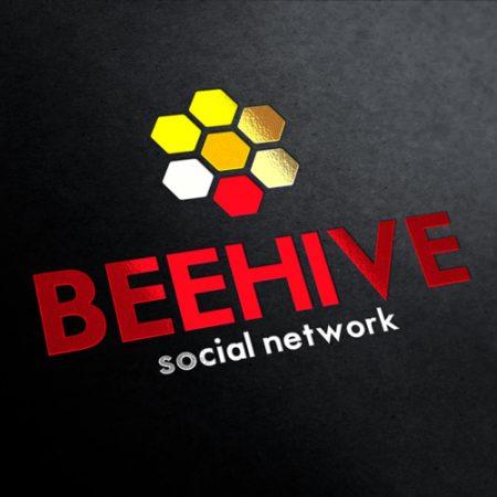 Bee Hive Corporate Logo Template