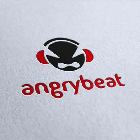 Angry Beat Logo Template