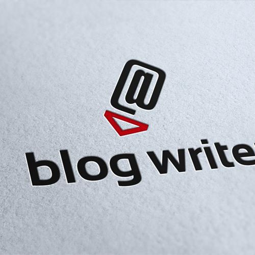 Blog Writer Logo Template