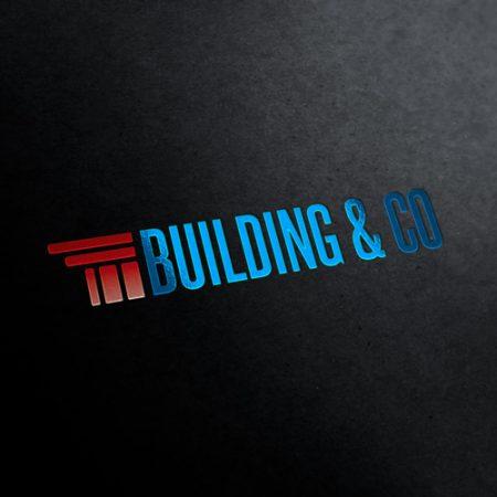 Building Corporation Logo Template