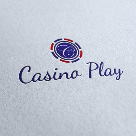 Casino Play Logo Template